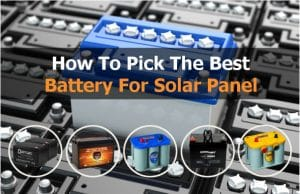 best solar batteries for solar