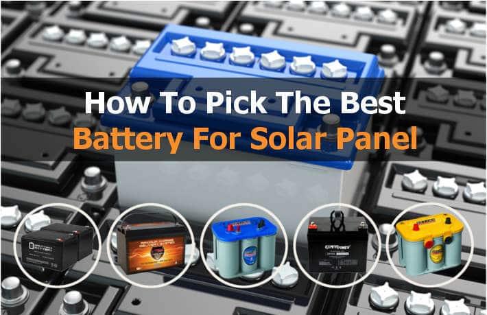 best solar batteries for solar