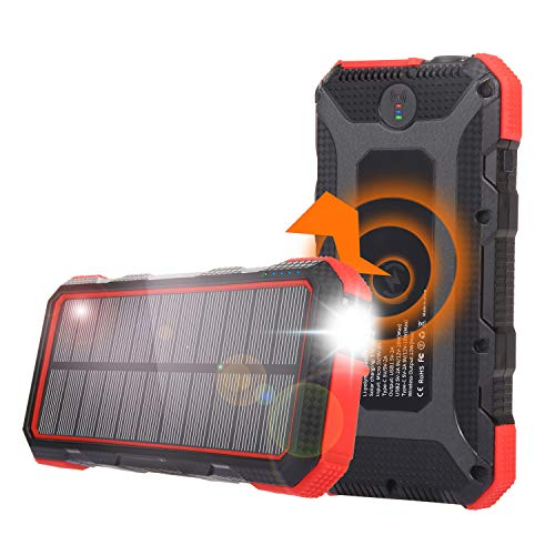 Best Wireless Solar Phone Chargers With Battery Review 2021 4
