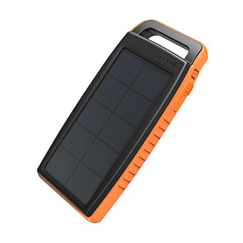 Best Waterproof Cell Phone Solar Chargers 3