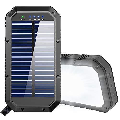 Best Wireless Solar Phone Chargers With Battery Review 2021 9