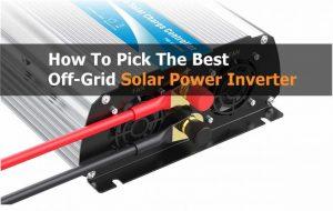 best off-grid solar inverter