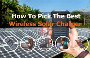 best wireless solar phone charger