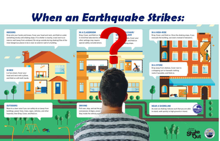 how to survive in an earthquake