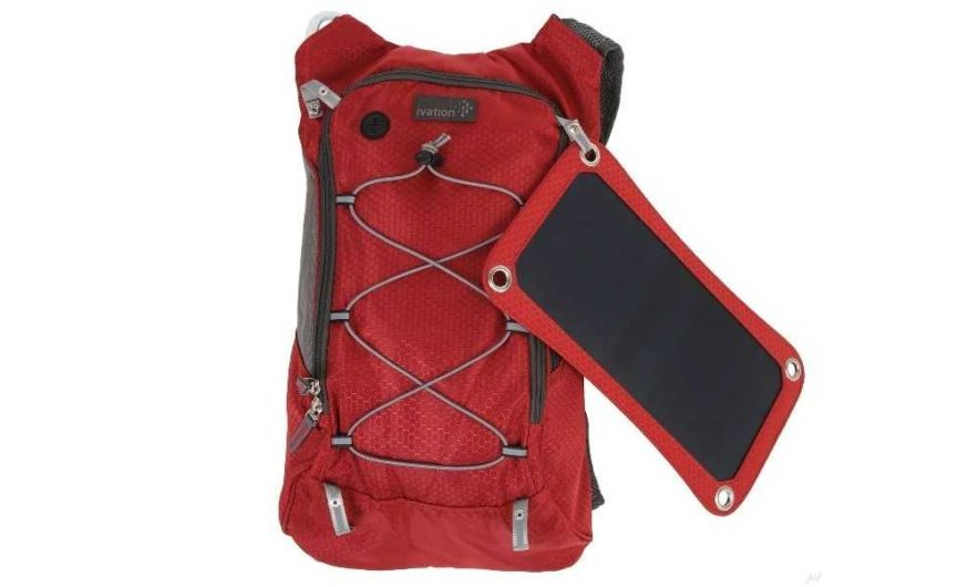 ivation solar survival backpack