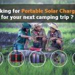 foldable solar chargers for camping