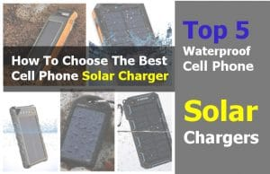 waterproof cell phone solar chargers