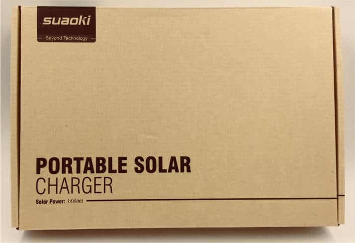Suaoki 14W Portable Solar Charger Review 7