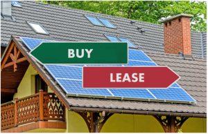 lease vs buy solar panels