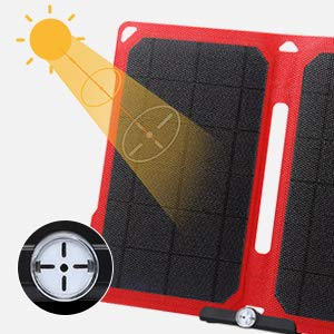 Suaoki 14W Portable Solar Charger Review 3