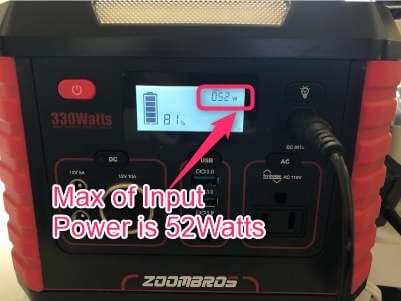 ZOOMBROS 330W Power Station Review 18