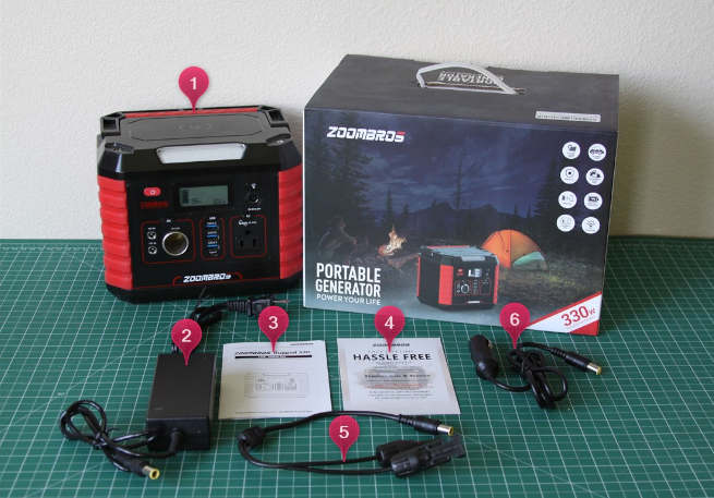 ZOOMBROS 330W Power Station Review 12
