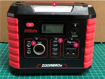 ZOOMBROS 330W Power Station Review 7
