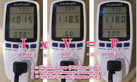 TV_Power_measurementWithMeter